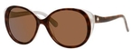 Kate Spade Finola Havana Silver with Dark Brown Polarized Lenses