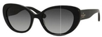 Kate Spade FRANCA/S Black with Green Lenses