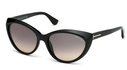 Tom Ford FT0231 Shiny Black with Gradient Smoke Lenses