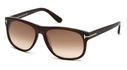 Tom Ford FT0236 Dark Brown with Gradient Brown Lenses