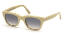Tom Ford FT0237 Beige Horn with Gradient Smoke Lenses