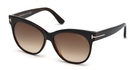 Tom Ford FT0330 Black/Crystal with Gradient Smoke Lenses