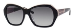 Kate Spade Gianna Black with Gray Gradient Lenses