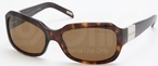 Ralph RA5049 Dark Tortoise w/ POLAR Brown Lenses