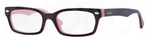 Ray Ban Glasses RB1533 Top Havana on Opal Pink