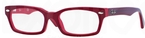 Ray Ban Glasses RB1533 Top Red on Opalin Red