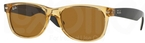 Ray Ban RB2132 New Wayfarer Honey w/ Crystal Brown Lenses