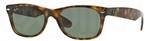 Ray Ban RB2132 New Wayfarer Tortoise w/ Crystal Green Lenses c.902L