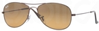 Ray Ban RB3362 Cockpit Dark Brown with Crystal Brown/Orange Gradient Lenses