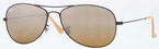 Ray Ban RB3362 Cockpit Matte Black with Brown/Silver Mirror Lenses