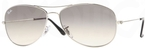 Ray Ban RB3362 Cockpit Silver with Grey Gradient Glass Lenses
