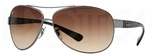 Ray Ban RB3386 Gunmetal with Brown Gradient Lenses