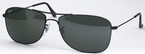 Ray Ban RB3477 Black with Green Glass Lenses c002