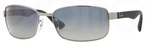 Ray Ban RB3478 Gunmetal with Polarized Blue Gradient Grey Lenses