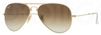 Ray Ban RB3479 Folding Wayfarer Arista Gold with Crystal Brown Gradient Lenses