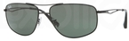 Ray Ban RB3490 Matte Black with Green Lenses