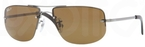 Ray Ban RB3497 Gunmetal with Polarized Brown Lenses