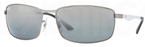 Ray Ban RB3498 Matte Gunmetal with Polarized Grey/Silver Mirror Lenses