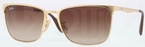 Ray Ban RB3508 Arista Gold with Brown Gradient Lenses