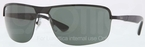 Ray Ban RB3510 Black with Green Lenses
