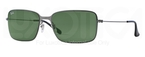 Ray Ban RB3514 Gunmetal with Green Lenses