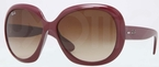 Ray Ban RB4098 Bordeaux with Brown Gradient Lenses