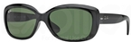 Ray Ban RB4101 Jackie Ohh Black w/ Crystal Green Lenses