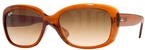 Ray Ban RB4101 Jackie Ohh Light Brown w/ Crystal Brown Gradient Lenses