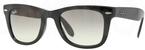Ray Ban RB4105 Black with Crystal Grey Gradient Lenses