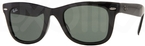 Ray Ban RB4105 Black with G15 Green Glass Lenses