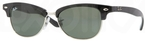 Ray Ban RB4132 Black-Silver with Crystal Green Lenses