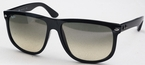 Ray Ban RB4147 Black with Crystal Green Polarized Lenses