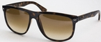 Ray Ban RB4147 Light Havana with Crystal Brown Gradient Lenses