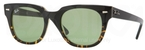Ray Ban RB4168 Black on Yellow Havana with Crystal Green Lenses