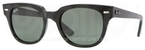 Ray Ban RB4168 Black with Crystal Green Lenses