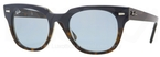 Ray Ban RB4168 Blue on Havana with Crystal Sky Blue Lenses