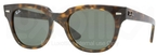 Ray Ban RB4168 Light Havana with Crystal Green Lenses