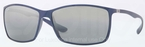 Ray Ban RB4179 Blue with Grey/Silver Mirror Gradient Lenses