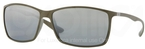 Ray Ban RB4179 Matte Military Green with Polarized Grey/Silver Mirror Gradient Lenses