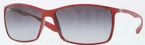 Ray Ban RB4179 Red with Grey Gradient Lenses