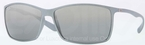 Ray Ban RB4179 Silver with Grey/Silver Mirror Gradient Lenses