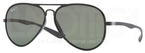 Ray Ban RB4180 Matte Black with Polarized Green Lenses