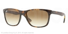 Ray Ban RB4181 Light Havana with Brown Gradient Lenses