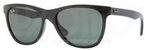Ray Ban RB4184 Black with Crystal Green Lenses