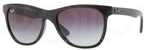 Ray Ban RB4184 Black with Crystal Grey Gradient Lenses