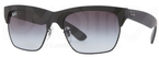 Ray Ban RB4186 Rubber Black/Black with Grey Gradient Lenses