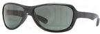 Ray Ban RB4189 Black with Green Lenses