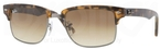 Ray Ban RB4190 Semi Gloss Havana/Gunmetal with Crystal Brown Gradient Lenses