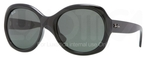Ray Ban RB4191 Black with Green Lenses