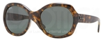 Ray Ban RB4191 Light Havana with Green Lenses